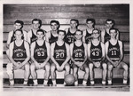 1962-1963 Men's Basketball Team by Cedarville College