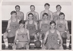 1969-1970 Men's Basketball Team by Cedarville College