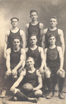 1915-1916 Men's Basketball Team by Cedarville College