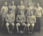 1924-1925 Men's Basketball Team by Cedarville College