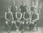 1904-1905 Men's Basketball Team by Cedarville College