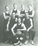 1910-1911 Men's Basketball Team by Cedarville College