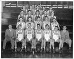 1946-1947 Men's Basketball Team by Cedarville College