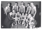 1957-1958 Men's Basketball Team by Cedarville College