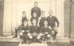 Men's Basketball Team (circa 1915) by Cedarville College