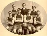 1907-1908 Men's Basketball Team by Cedarville College