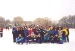 1997 Cross Country Team by Cedarville College