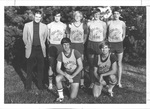 1976-1977 Men's Cross Country Team by Cedarville College