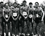 1986-1987 Men's Cross Country Team