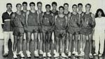 1988-1989 Men's Cross Country Team