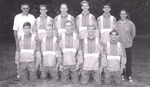 1996 Men's Cross Country Team by Cedarville College