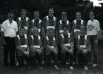 1998 Men's Cross Country Team by Cedarville College