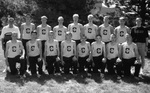1999 Men's Cross Country Team by Cedarville College