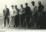 1968-1969 Golf Team by Cedarville College