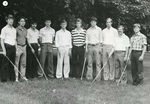 1981-1982 Golf Team by Cedarville College