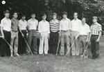 1981-1982 Men's Golf Team
