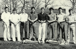 1983-1984 Golf Team by Cedarville College