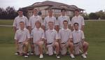 2007-2008 Golf Team by Cedarville University