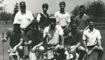 1987-1988 Golf Team by Cedarville College
