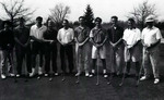 1991-1992 Golf Team by Cedarville College