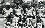 1992-1993 Golf Team by Cedarville College