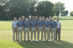 2018-2019 Golf Team by Cedarville University