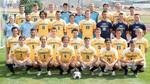 2019-2020 Men's Soccer Team by Cedarville University