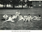 1965-1966 Men's Track & Field Team by Cedarville College