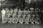 1970-1971 Men's Track and Field Team by Cedarville College