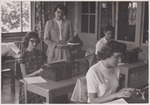 Ardeth Webber Teaching a Class by Cedarville University