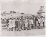 Group of Students Standing Next to an Airplane by Cedarville University