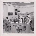 Undated Photograph of Students in a Science Lab by Cedarville University