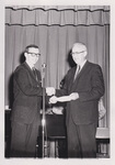 Dr. Jeremiah and Unidentified Student by Cedarville University