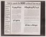 Speech Department Advertisement by Cedarville University