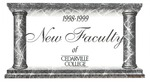 New Faculty, 1998-1999 by Cedarville College