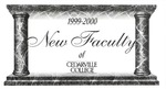 New Faculty, 1999-2000 by Cedarville College