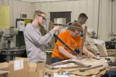 Wooden Bikes Present Capstone Challenge for Engineering Students