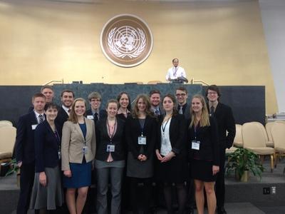Cedarville Model U.N. Team Achieves Record Success