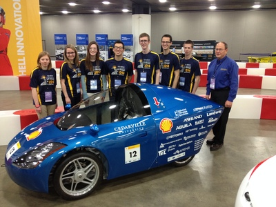 """Engineering Students Set for """"Showdown in Motown""""  with Supermileage Cars"""