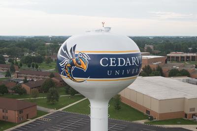 Yellow Jacket Now Flies Over Cedarville University Campus