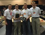 Robotics Team Wins Third-Straight ASEE Competition