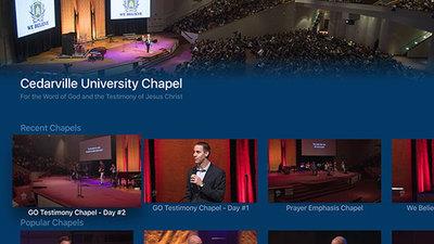 Chapel App Comes to Apple TV