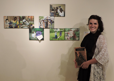 Art Student Honored by AICUO