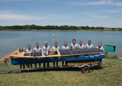 Back-to-Back World Titles for Cedarville Solar Boat Team