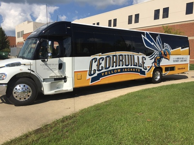 New Wheels for Cedarville Yellow Jackets