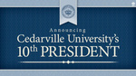 Presidential Announcement by Cedarville University