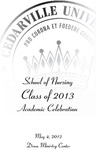 School of Nursing Class of 2013 Academic Celebration by Cedarville University