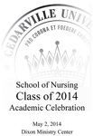 School of Nursing Class of 2014 Academic Celebration