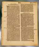 Great Bible Page, printed 1539 or 1540