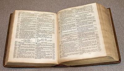 King James Bible, 1762